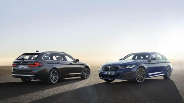 BMW الفئة الخامسة الفيس ليفت 2021 الجديدة